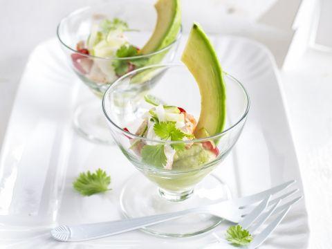 Avocado met kingkrab - Libelle Lekker