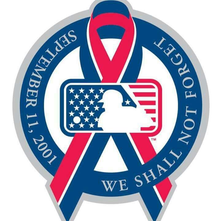 Cleveland Indians Tribute to 9/11.. 💙💙💙