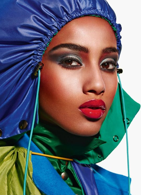 Imaan Hammam / Photographed by Mario Sorrenti / For Vogue Paris September 2014