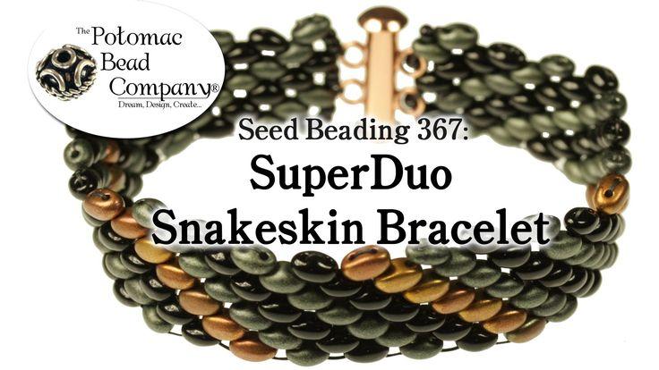 SuperDuo Snakeskin Bracelet