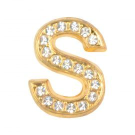 Masterdis Special Garment Jewelz S Men Magnetic Letter Gold