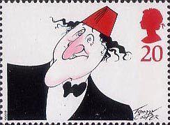Comedians 20p Stamp (1998) Tommy Cooper