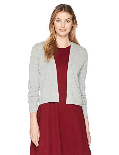 fashion  women Lark   Ro Women s Long Sleeve Lightweight Cropped Cardigan  Sweater  Buy   29.00 Imported 2154dfa50