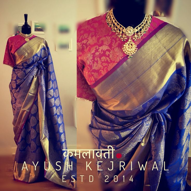 Kanjiveram silk by Ayush Kejriwal or purchases email me at designerayushkejriwal@hotmail.com or what's app me on 00447840384707  We ship WORLDWIDE. Instagram - designerayushkejriwal