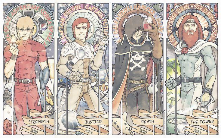 """The Shonen Avengers HD"" by ZeMiaL-OnLine [=> http://zemial-online.deviantart.com/art/The-Shonen-Avengers-HD-523964455 ]"