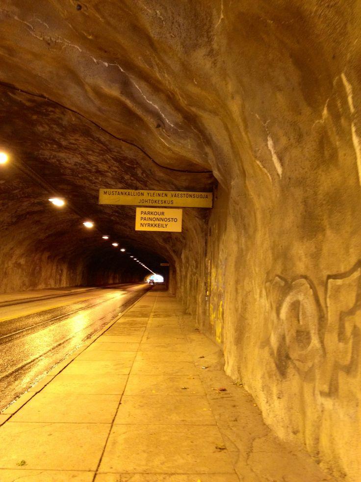 Mustankallion tunneli - Lahti