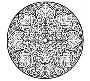 Relax While You Create With These Free Mandala Coloring Pages: Mandala Coloring Pages from Canada Arts Connect