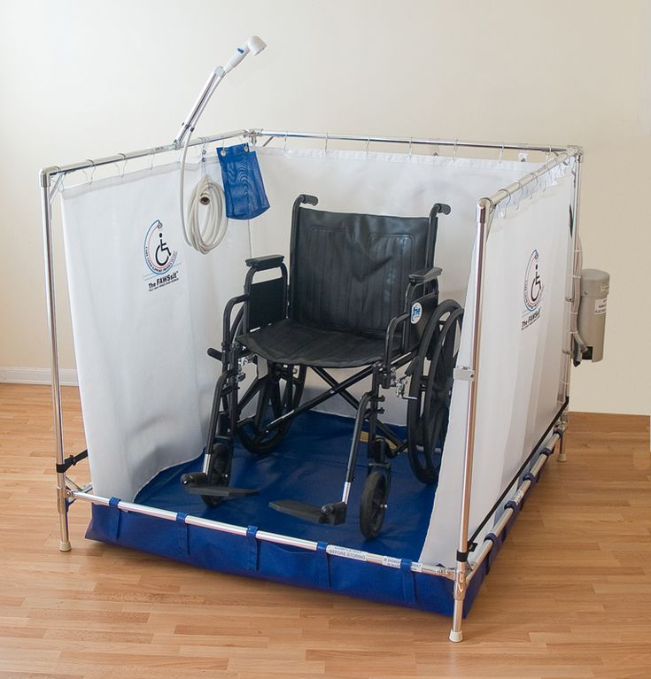 Temporary Shower Enclosures : Portable wheelchair shower stalls accessibleshowers