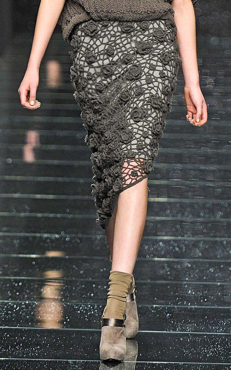 Beautiful crochet skirt!!
