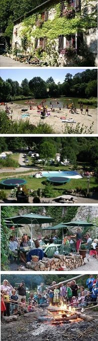 Fr   Langedoc   Camping Goudal   met meertje en zwembad
