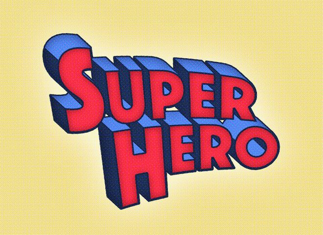 How To Create a Superhero Comic Text Effect in Photoshop