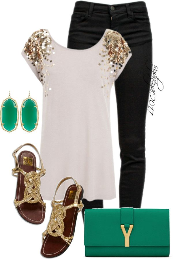 """Kendra Scott Earrings"" by sydneyac2017 on Polyvore Not usually a glitter girl however I like this!-T"