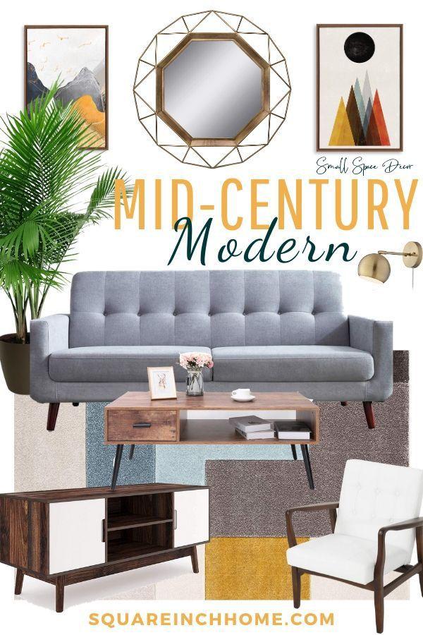 Mid Century Modern Living Room Decor Design Board Mid Century Modern Living Room Mid Century Modern Living Room Design Mid Century Modern Interior Design