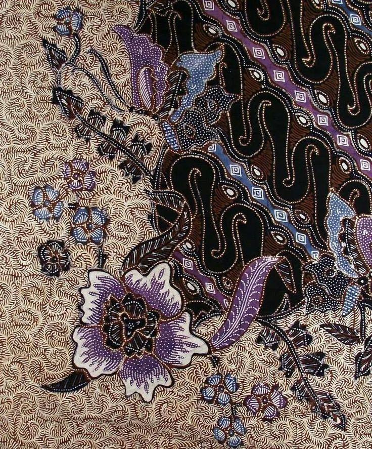 Batik Parang Barong Hitam Kram