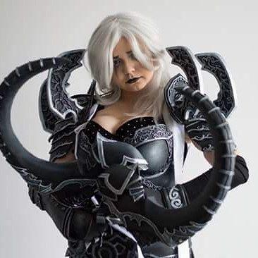 Poprawki trwają ❤❤❤ Photo: thefreakkamil #cosplay #Malthael #repearofsouls #mozgie #whitehair #costume