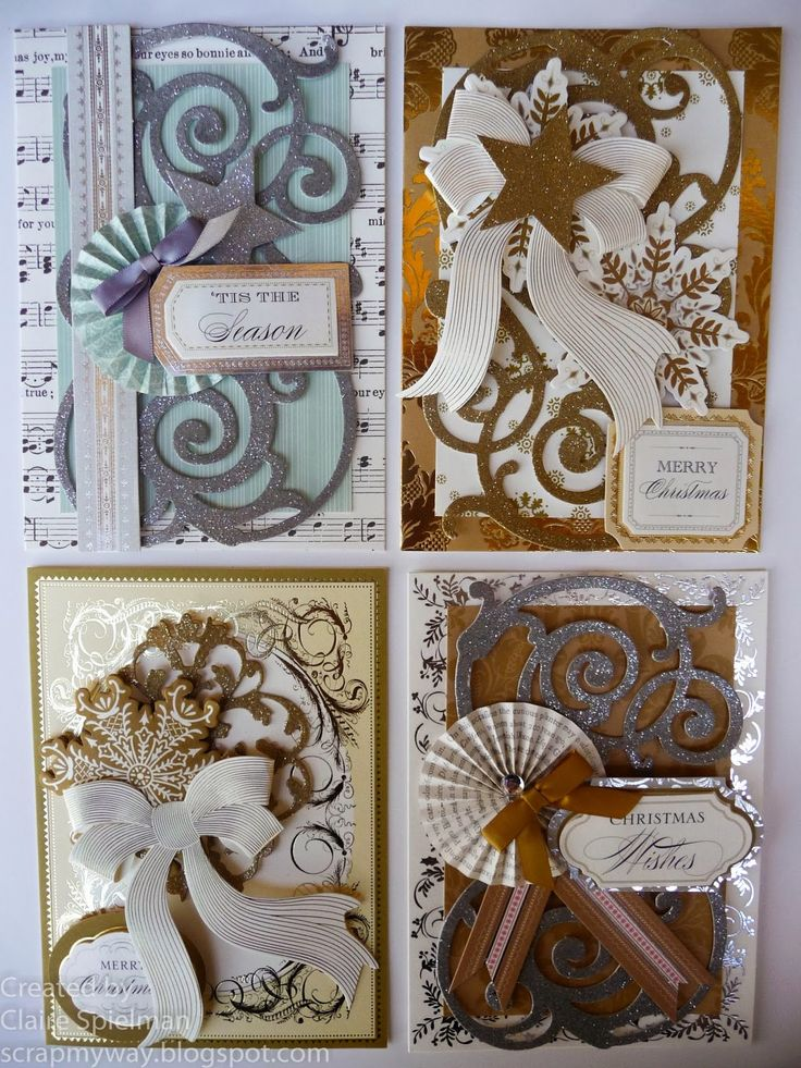 anna griffin christmas cards | Creative Chicks Ch#9 Christmas/Winter
