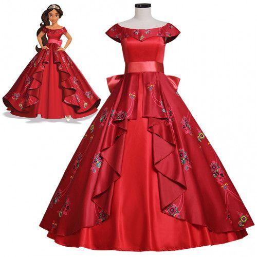 Elena of Avalor Elena Princess Cosplay Dress Adult Girls Dress | cosplaydiy - Clothing on ArtFire