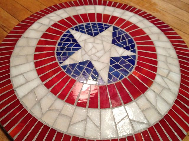 Capt. America's Shield Table - I would actually have this in my house, as sad as that is to admit!