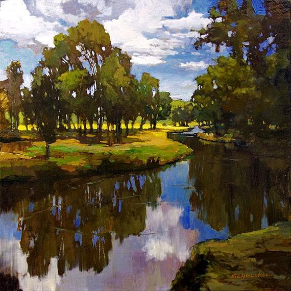 Winding Creek - by Jan Schmuckal
