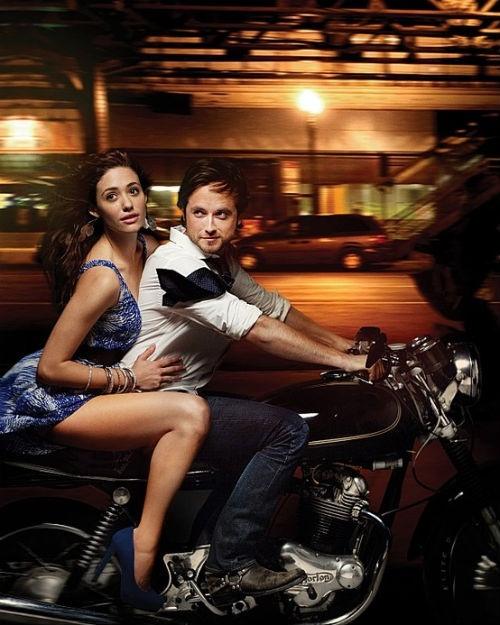 Emmy Rossum & Justin Chatwin