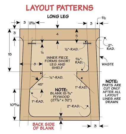 Fold Flat Sawhorses | Woodsmith Plans