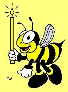 Busy Bee Candle Supply Wick size chart for making beeswax candles