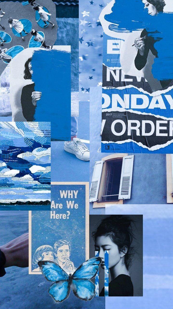 Blue ARiRi pinterest 🐝 Wallpapers background
