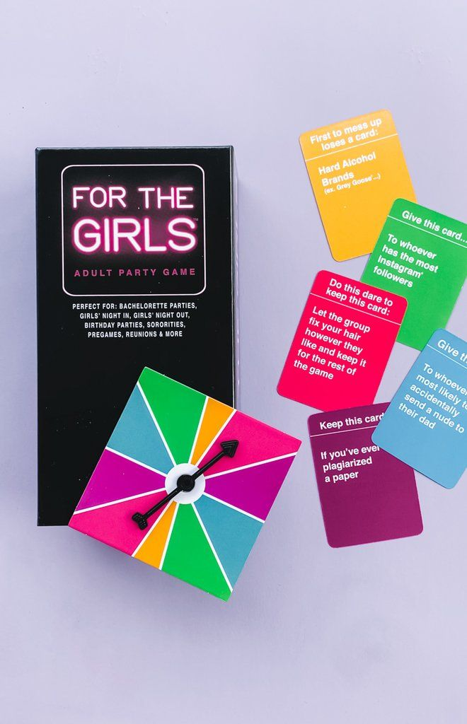 For The Girls Card Game Card Games What Do You Meme Girls Party Games