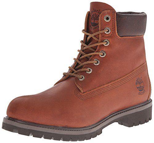 timberland men's 6 inch premium waterproof boots wheat/white 27016