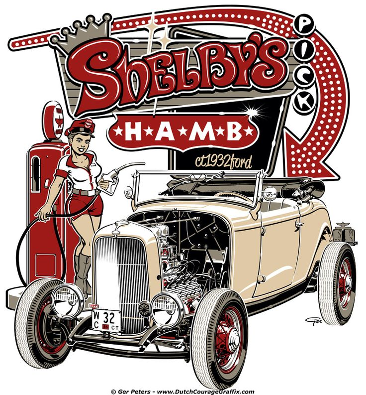 705 best ROCKABILLY & HOT ROD images on Pinterest | Drawing ...