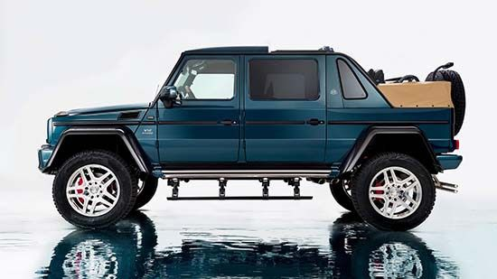 Meet the new Mercedes-Maybach G650 Landaulet • Luxuryes
