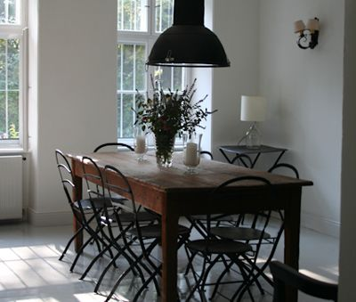 Inner dining table for 8 - Csokonai Luxury Villa at Lake Balaton