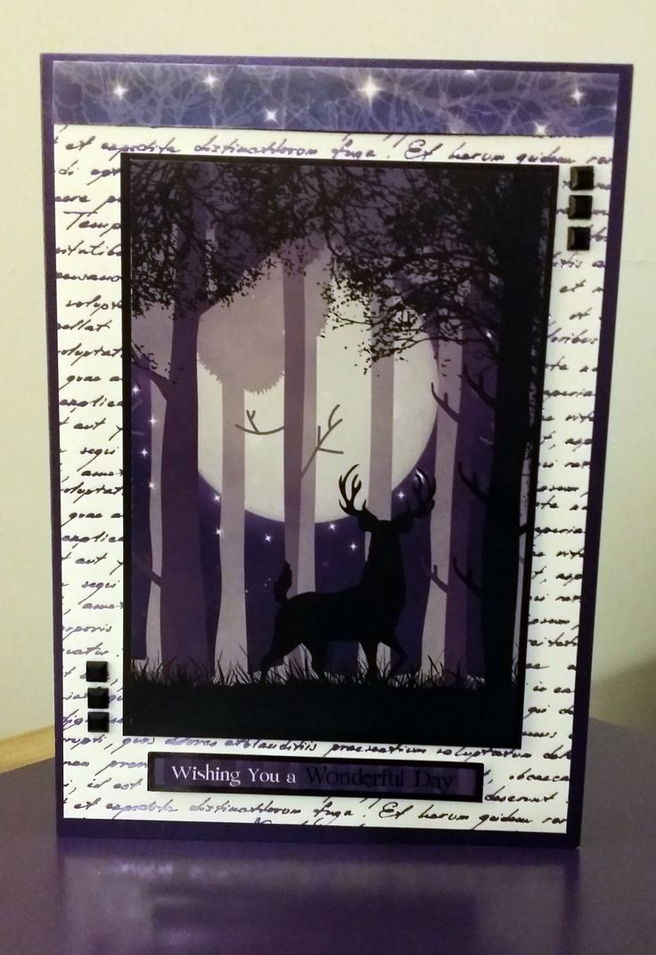 155 best Kanban Crafts images – Twilight Birthday Card