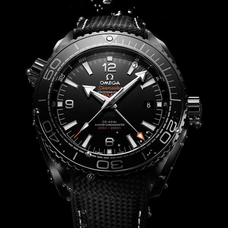 TimeZone : Industry News » N E W M o d e l s - Omega Seamaster Planet Ocean Deep Black