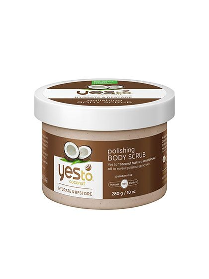 This nearly all-natural formula uses real coconut husks to slough dead skin, plus a nice dose of almond and coconut oils to moisturize. And the whole shebang smells really, really good.
