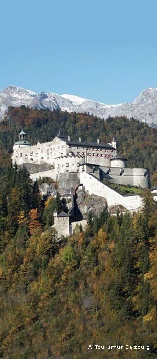 Castle #Hohenwerfen, Salzburg province - Austria