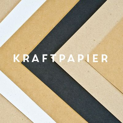 Kraftpapier in 4 Farben! Jetzt entdecken im miomodo Onlineshop. www.miomodo.de #kraftpaper #paperlove