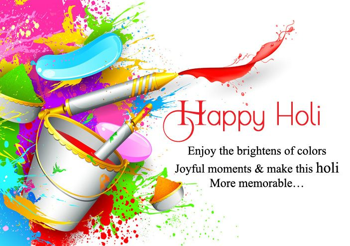 Happy Holi Quotes with Images. #happyholi #images #greetings #hd #wallpaper #quotes