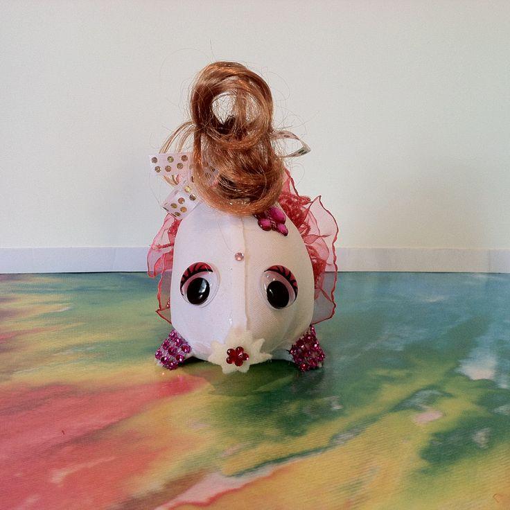 Rainbow Baby Mole (Brainna) by veramaecollection on Etsy
