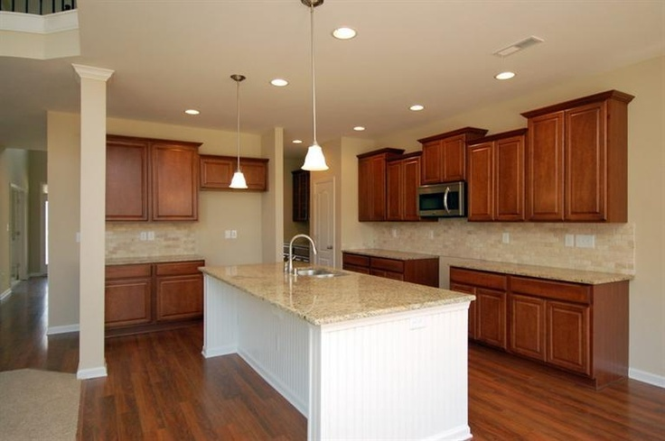 The Hartford Ii By Ball Homes I Really Love How Open The Kitchen Breakfast Nook Is To The