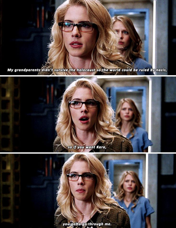 Crises on Earth-X << I feel like the fact that Felicity is Jewish is so under appreciated.