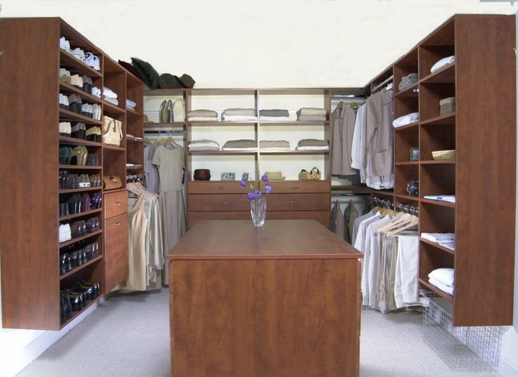 Large Walk In Closet Ideas With Classic Closet Shelving And Cabinetry Ideas  Design Made From Wooden