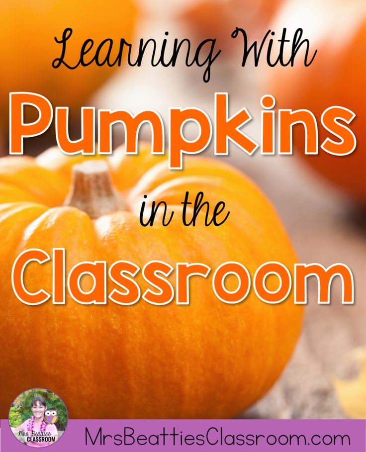 This is the PERFECT time to bring the outdoors into the classroom! Read and write about pumpkins and investigate them inside and out! This post is full of book suggestions and ideas for pumpkin math activities that you can easily do with the students in your classroom.
