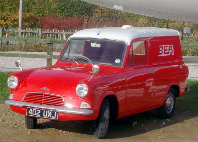 1963 Ford 307E Van