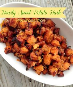 Sweet potato hash - gluten free, paleo, grain free, dairy free, 21 Day Fix recipe