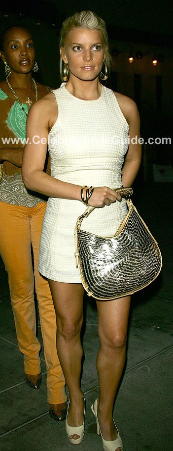 Jessica Simpson.....Love and her fashion line=) Especially her purses!