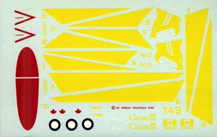 """1/72 CF-188, HORNET -410 Sqn, """"COUGAR"""" 50TH Anniversary Colour Scheme"""