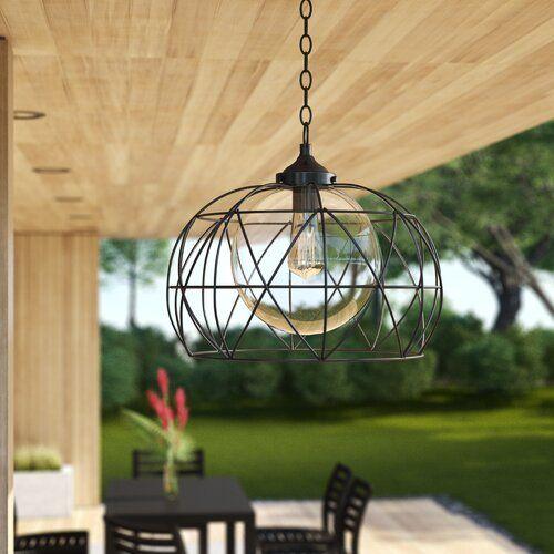 Wyckoff 1 Light Outdoor Pendant Outdoor Pendant Outdoor Lighting Outdoor Ceiling Lights