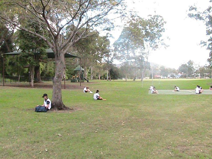 Dorrington park - open parkland