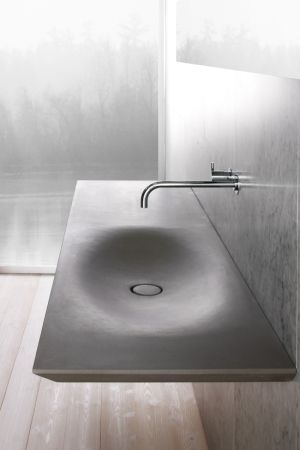 Best Bathroom MinimaL Design Images On Pinterest - Almost invisible minimalist kub bathroom sink by victor vasilev